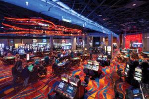 Akwesasne Mowhawk Casino's gaming floor.  (Photo by Matt Weeks courtesty of Akwsasne Mohawk Casino)