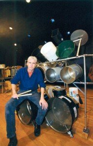 "Grammy nominee Donald Knaack, aka The Junkman, will present two solo concerts during the Living Green Fair. These will be followed by interactive ""Junk Jams"" in which he invites children in the audience to play his ""junk music"" instruments, which are made of 100 percent recycled materials. (Courtesy photo)"