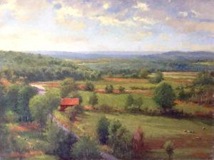 The Red Barn by George Van Hook