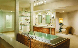 Creating an at-home getaway by incorporating a spa/bathroom in a home is becoming quite popular. (Courtesy photo)