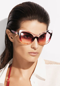 Make a statement this summer in sunglasses inspired by 1950s movie stars such as these from La Perla.