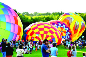 The Stoweflake Hot Air Balloon Festival is a feast for the eyes and the imagination. (Photo by Karen Cox)