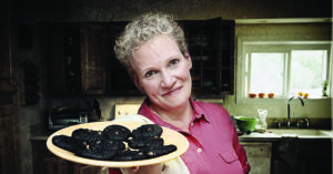 'Blackberry Winter', a striking new play by playwright Steve Yockey, will be presented by Vermont STage in March. The play follows Vivienne Avery as she deals with her mother's slide into the grip of dementia (Photo by Lindsay Raymondjack)