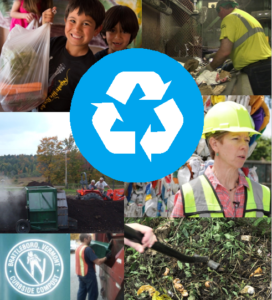 The Universal Recycling law is working through many new forms of reuse and recycling, from traditional blue bin recycling containers to feeding hungry neighbors by food donation.