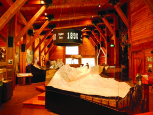 The visitors center is a good place to start a visit to Canada's Glacier National Park. (Photo courtesy of Bill Neely)